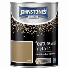 Johnstones Feature Wall Metallic Gold 1.25L